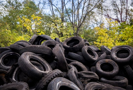 Roughly $500,000 in grant money is available in Kentucky for recycled tire projects. Applications must be submitted by 4:30 p.m. on April 1.