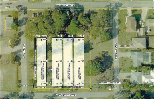 Five bioreactors stuffed with woodchips and pea gravel at the corner of Felts Avenue and Abernathy Street could become one of Bonita Springs' most important water quality systems.