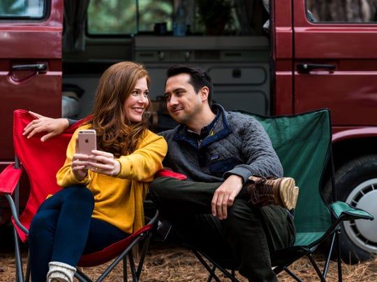 Haley Finnegan, as Emelia, and Brian Flynn, as Brody, in 'Westfalia.'