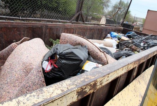 Lee Acres is one of the county's transfer stations where people can drop off trash during Fall Dumpster Day.