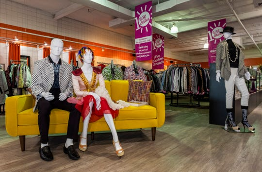 The Palm Springs Revivals store shows off its Wil Stiles boutique.