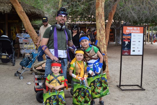 The annual Howl-o-Ween event at The Living Desert will take place on Oct. 26 and 31, 2019.
