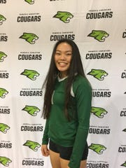 MeiLing Milgrim of Phoenix Christian girls volleyball