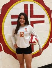 Seton Catholic girls volleyball libero Rachael Martinex