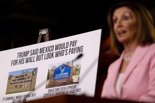 Los demócratas habían presentado una iniciativa que se oponía a que los fondos del ejército sean utilizados para el muro.