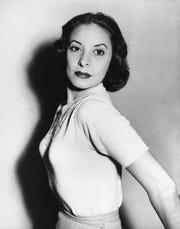 Foto tomada a Alicia Alonso en mayo de 1953.