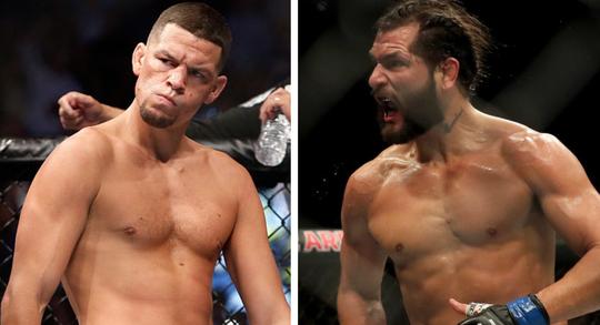 Nate Díaz vs. Jorge Masvidal en UFC 244