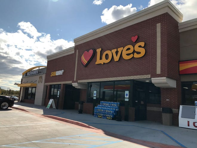 Love's Travel Stop & Country Store in St. Clair Township opened on Oct. 10, 2019.