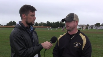 YDR sports reporters Matt Allibone and Kevin Moore discuss Delone Catholic trying to clinch a Division III title vs. York Catholic with Squires coach Corey Zortman and receiver Gabe Lee.
