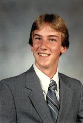 Michael Schimian, in his senior class photo, was in a terrible car crash 26 years ago. He died Oct. 8.