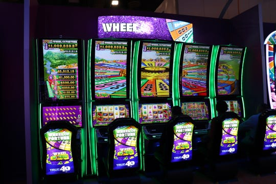 IGT continues to develop its 4D slot machines, and rolled out this updated version of the Wheel Of Fortune machine.