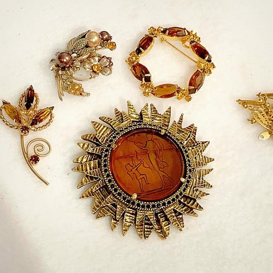 Joette Kruppenbacher takes vintage jewelry to upcycle.