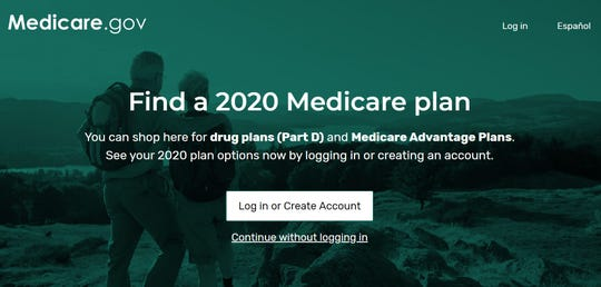 Rollout of Medicare's new website for drug plans (PArt D) and Advantage Plans   caused some clients trouble registering.