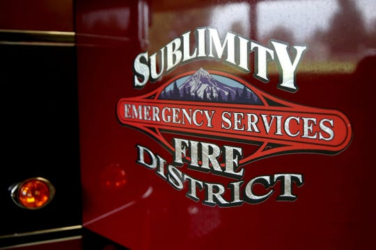 The Sublimity Fire District on Oct. 16, 2019.