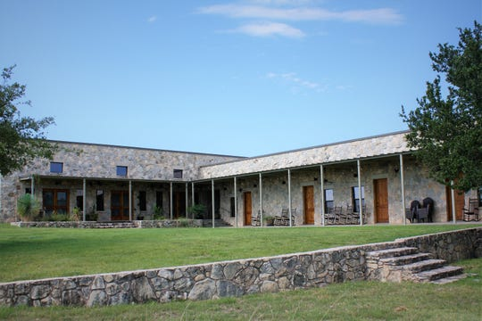 Pecan Creek Lodge, 24450 Door Key Road, is owned by the Powell family.