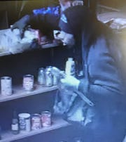 Bossier Sheriff investigators are searching for a grocery store burglar who took candy, soda and other groceries.