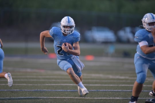 Loyola's Reese Ebarb earned Player of the Week (6) via voting on The Times' Friday Night Live app.