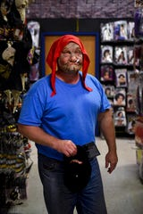 Paul Sieber has owned Halloween Express for six years and believes the store provides the largest selection of costumes in the area.