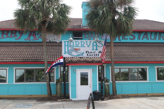 Harry A's on St. George Island suffered serious damage in Hurricane Michael. Since reopening in August, nearly a year after the storm, business has been good.
