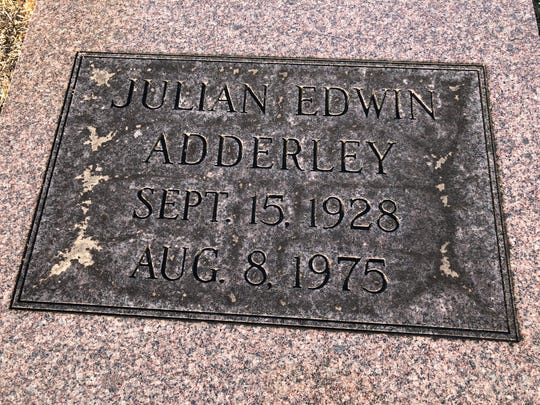 "Julian Adderley or ""Cannonball"" is buried at Southside Cemetery in Tallahassee."