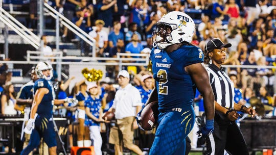 Anthony Jones survived a shooting last year and now leads FIU in rushing