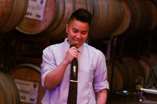 """Sharra Lou Arriola is a substitute teacher living in Oxnard. Sharra will share a story as part of """"Blended,"""" the final show in the Ventura Storytellers Project second show. The event is Nov. 12."""