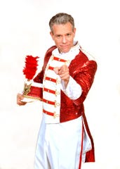 """Adam Pascal stars in """"The Music Man"""" at the Bank of America Performing Arts Center in Thousand Oaks."""