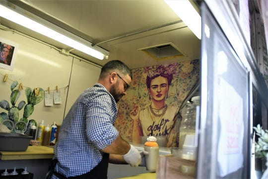 Noe Maldonado is one of the people behind the hit Visalia food truck Que Concha.