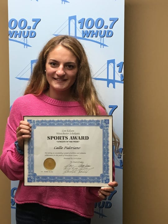Callie Pidoriano, a volleyball player from Hendrick Hudson High School, is the latest Con Edison Athlete of the Week.
