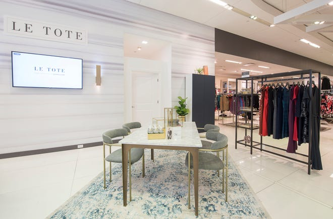 Le Tote Rental Studio at Lord + Taylor Ridge Hill in Yonker. (Photo by Eugene Gologursky/Getty Images)
