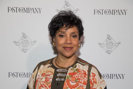 Award-Winning actress Phylicia Rashad attends the Fast Company Grill on March 09, 2019 in Austin, Texas.The Mount Vernon, NY resident will have an  auditorium dedicated to her.