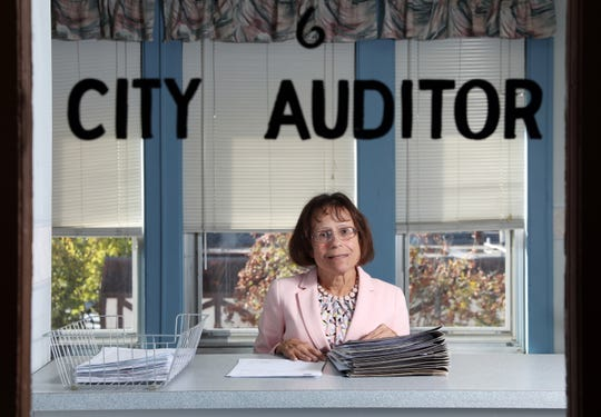 Margo Moyer has been the Zanesville City Auditor since 1992, but her name won't appear on the ballot this November because she didn't get enough signatures to run as an independent.