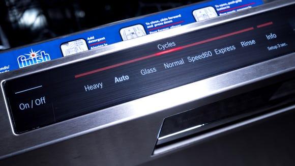 Best dishwashers: Bosch Benchmark Series SHE89PW55N