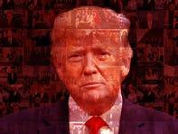Trump portrait