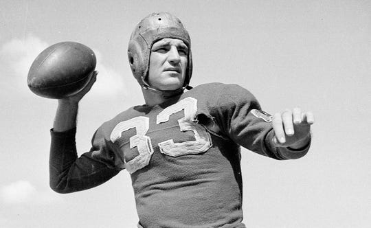 Sammy Baugh was a two-time NFL champion, a four-time First Team All-Pro and a six-time Pro Bowler.