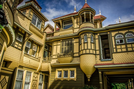Winchester Mystery House in San Jose, Calif., has a history of reported paranormal activity. The property and mansion have been claimed by many to be haunted by the ghosts of those killed with Winchester rifles.