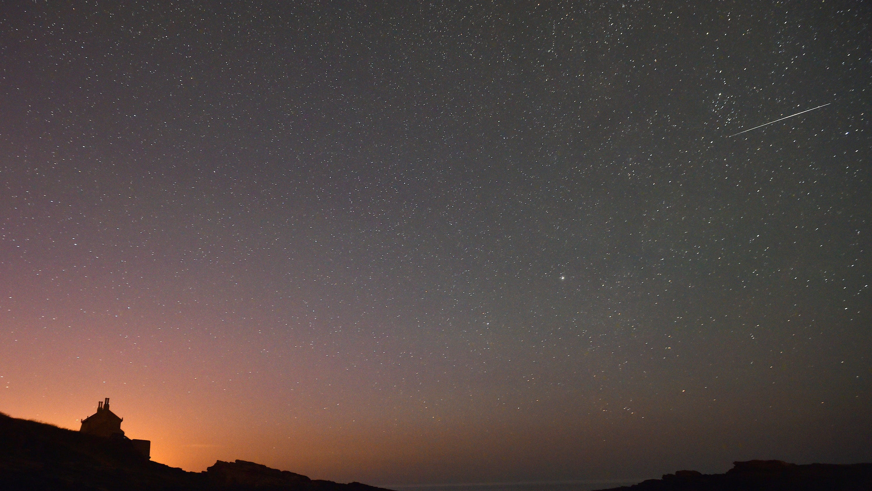 The Orionid meteor shower peaks Tuesday night into Wednesday morning
