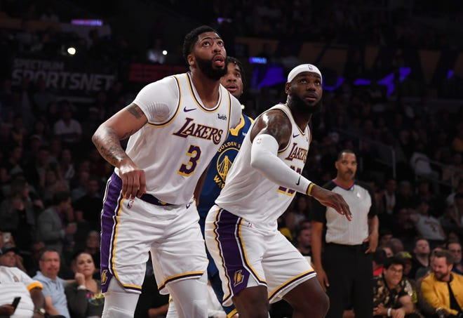 Lebron James Anthony Davis Lakers Workload How Much Will