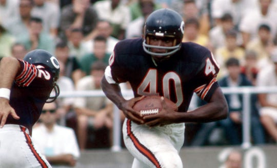 Gayle Sayers was a five-time First Team All-Pro and a four-time Pro Bowler before his career was cut short by injuries.