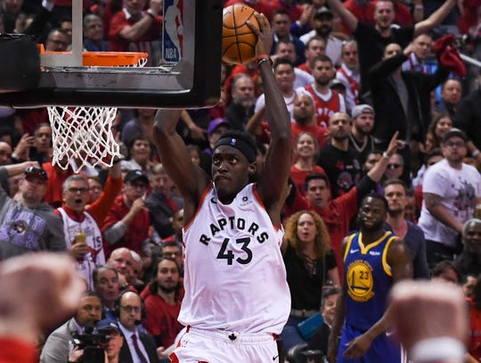 Making a leap: Pascal Siakam, Raptors  He proved that he's good. Now it's up to last season's Most Improved Player to show just how good. With the departure of Kawhi Leonard and Kyle Lowry aging, Siakam, 25, will get every chance to become the new face of the Raptors. His potential as a franchise centerpiece gives Toronto a new path forward, especially if general manager Masai Ujiri wants to start rebuilding by trading some of the team's veterans with favorable contracts.
