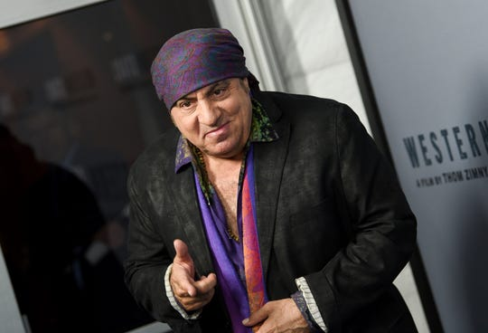 "Musician Steven Van Zandt attends the special screening of ""Western Stars"" at Metrograph on Wednesday, Oct. 16, 2019, in New York."