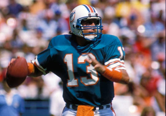 Dan Marino was the NFL Rookie of the Year in 1983, the NFL MVP in 1984 and was a nine-time Pro Bowler.
