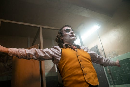 "Arthur Fleck (Joaquin Phoenix) becomes the arch-villain by the end of ""Joker."""