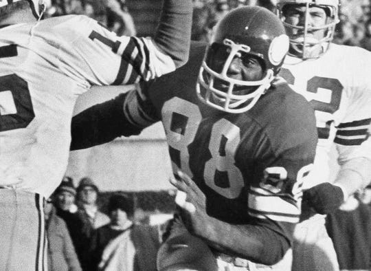 Alan Page was the 1971 NFL MVP, a two-time NFL Defensive Player of the Year (1971, 1973) and had 23 fumble recoveries in his career.