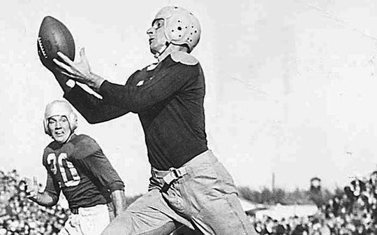 Don Hutson was a three-time NFL champion, a two-time NFL MVP and an eight-time First Team All-Pro.