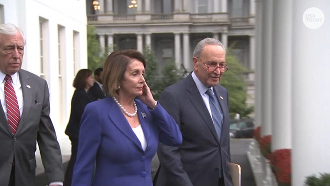 Pelosi And Trump Feud Over Who Had A Meltdown After Syria Talks