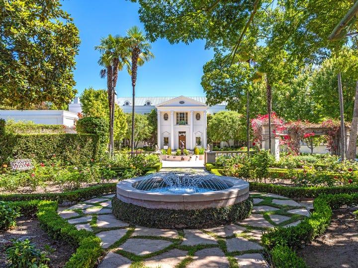 The Conrad Hilton estate, also know as Casa Encantada.