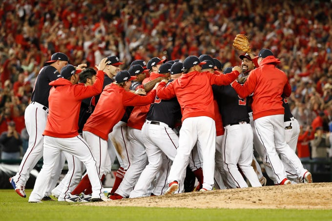 2019 NLCS Game 4: The Washington Nationals finished off a sweep of the St. Louis Cardinals to reach the World Series for the first time in franchise history.