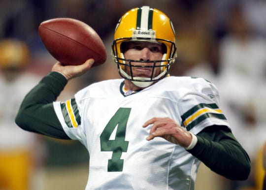 Brett Favre is second in the NFL in career passing yards (71,838), has the most career starts of any NFL player (298, 322 including the post season) and was the first player to record 500 career TD passes.