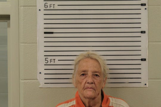Eudene Faye Marler, 78, of Little Bald Branch Rd., faces charges of assault with a deadly weapon and communicating threats after an alleged incident involving two animal control officers visited Oct. 2.